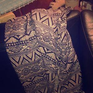 Boho dress Aztec